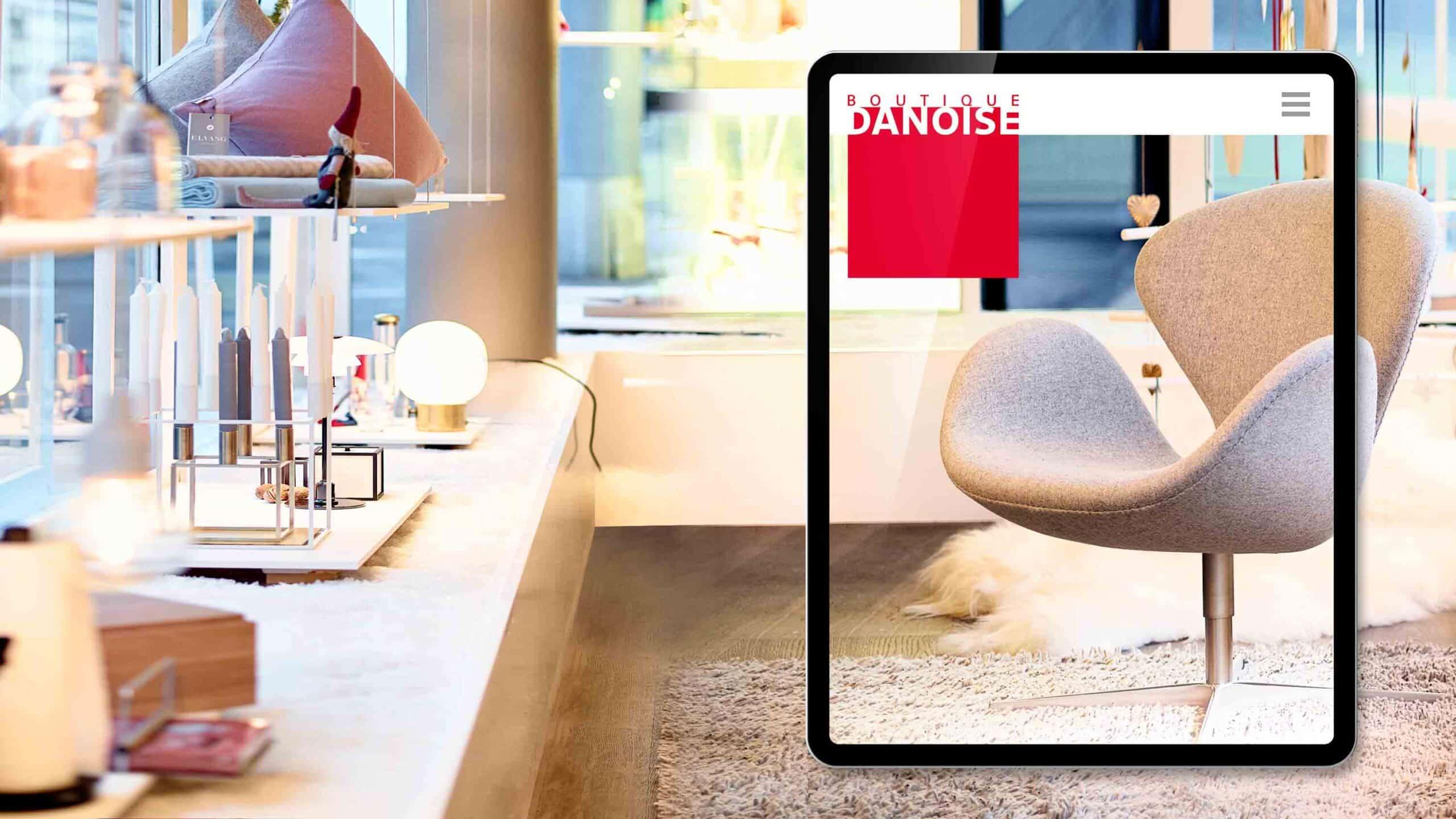 Online Shop Corporate Website Webdesign Web Shop Movie Video SEO Digital Agentur Webagentur Webseite Webdesign Grafik Design Boutique Danoise Basel ShowMyProject 2021