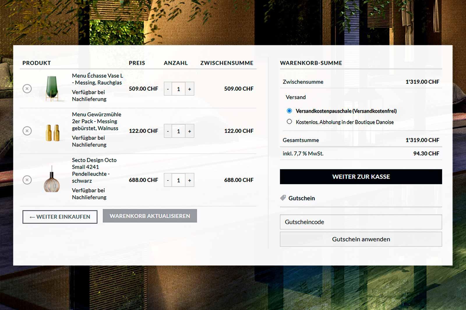 Webdesign Online-Shop E-Commerce Homepage Corporate Design Grafik Design Logo Brand Kreation Firmendrucksachen Briefschaften Schriftzug Fotografie Digitale Bildbearbeitung Photo-Composing Video-Erstellung Motion-Design Movie-Editing ShowMyProject Digital Agentur Basel 2021